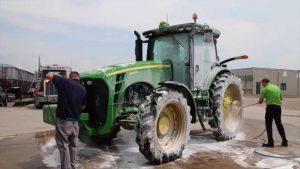 pressure washer tractor